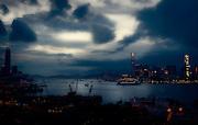 Nightfall over Causeway Bay - Hong Kong, China