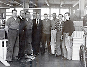 factory management with with returned to work soldier USA 1946