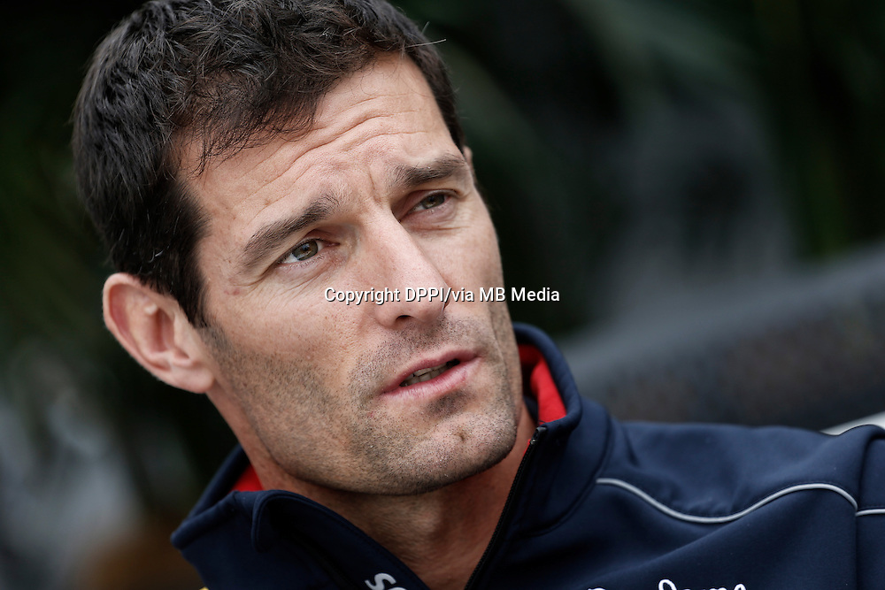 MOTORSPORT - F1 2013 - GRAND PRIX OF CANADA - MONTREAL (CAN) - 07 TO 09/06/2013 - PHOTO FRANCOIS FLAMAND / DPPI - WEBBER MARK (AUS) - RED BULL RENAULT RB9 - AMBIANCE PORTRAIT