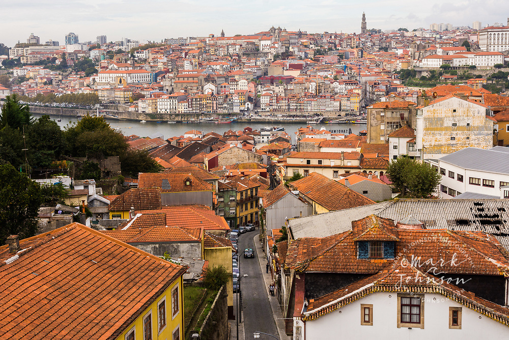 The old city of Porto, Portugal