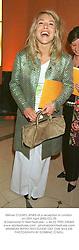 Milliner COZMO JENKS at a reception in London on 25th April 2002.OZJ 55