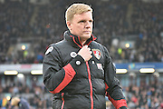 Bournemouth Manager, Eddie Howe during the Premier League match between Burnley and Bournemouth at Turf Moor, Burnley, England on 10 December 2016. Photo by Mark Pollitt.