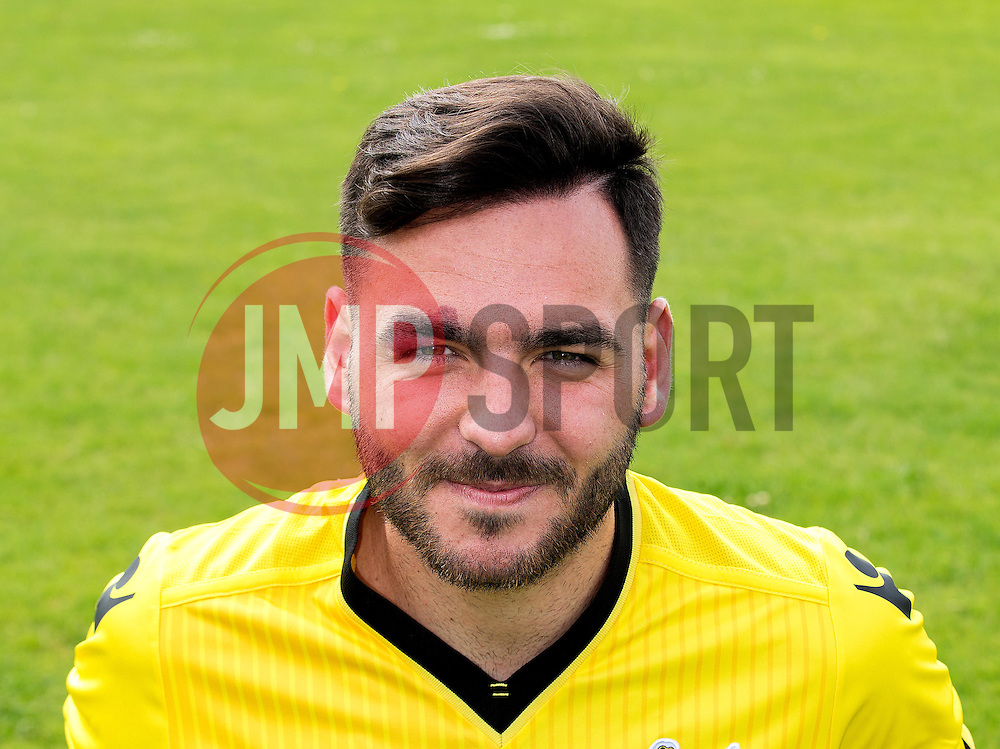 Jake Gosling of Bristol Rovers - Mandatory by-line: Robbie Stephenson/JMP - 04/08/2016 - FOOTBALL - The Lawns Training Ground - Bristol, England - Bristol Rovers Head Shots