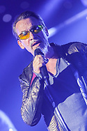 "NICE, FRANCE - OCTOBER 21:  French Singer Florent Pagny performs at Palais Nikaia for ""55 Tour"" on October 21, 2017 in Nice, France.  (Photo by Tony Barson/Getty Images)"