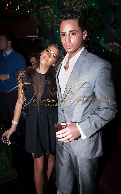 NEW YORK, NY - APRIL 13:  John Gotti Agnello & Girlfriend attends Frank Gotti's 21st birthday celebration>> at Greenhouse on April 13, 2011 in New York City.  (Photo by Dave Kotinsky/Getty Images)