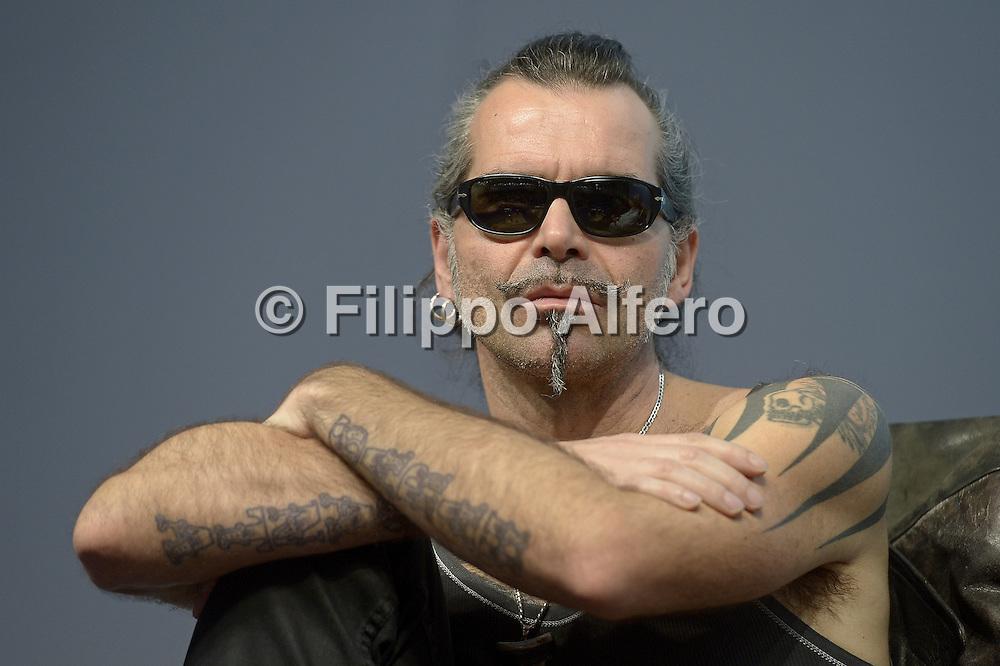&copy; Filippo Alfero<br /> Salone del Libro 2014<br /> Torino, 09/05/2014<br /> Nella foto: Piero Pel&ugrave;