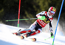 HIRSCHER Marcel of Austria competes during Men's Slalom - Pokal Vitranc 2014 of FIS Alpine Ski World Cup 2013/2014, on March 9, 2014 in Vitranc, Kranjska Gora, Slovenia. Photo by Matic Klansek Velej / Sportida