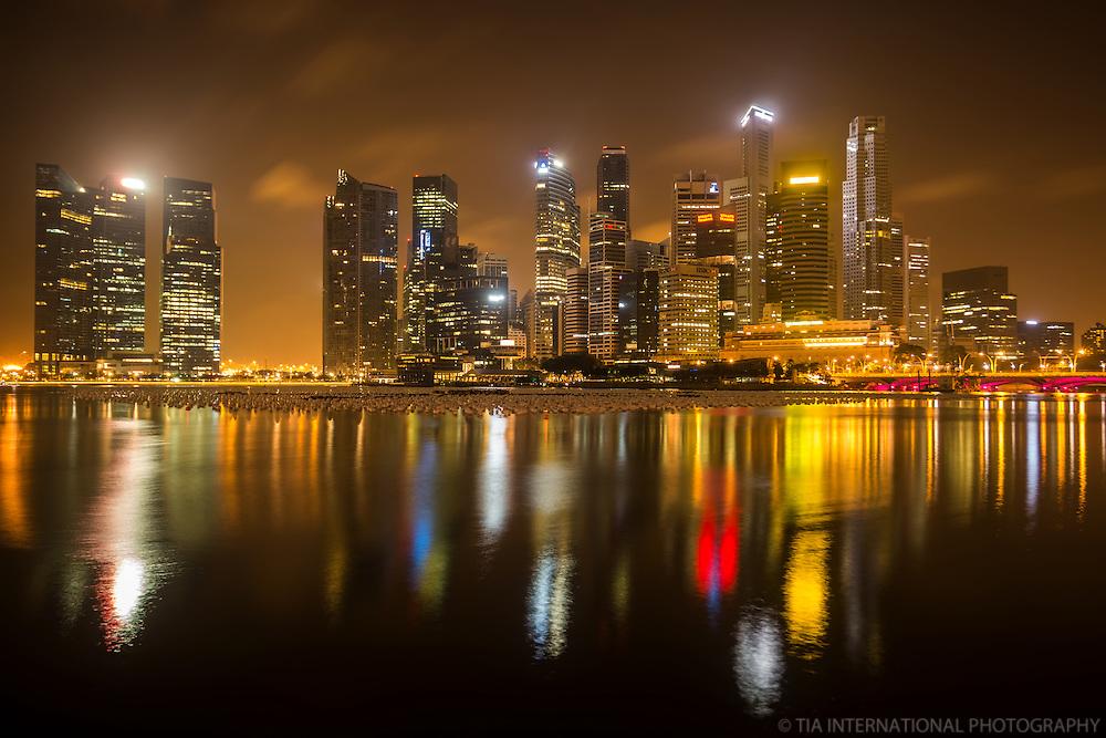 Singapore - Marina Bay, Before Sunrise
