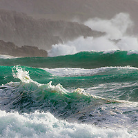Wild Atlantic Wave, Co. Kerry, Ireland<br />