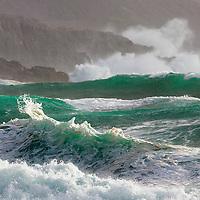 Wild Atlantic Wave, Co. Kerry, Ireland<br /> The Wild Atlantic Way at its best.