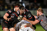 Mark Bennett's first game for Edinburgh during the Guinness Pro 14 2017_18 match between Edinburgh Rugby and Southern Kings at Myreside Stadium, Edinburgh, Scotland on 5 January 2018. Photo by Kevin Murray.