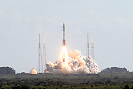 The United Launch Alliance Atlas V rocket lifted off from Launch Complex 41 at Kennedy Space Center in Florida. NASA's Mars Science Laboratory (MSL) spacecraft is in the protective payload cone, for a 9-month interplanetary mission to Mars. Liftoff was at 10:02 a.m. EST Nov. 26, 2011. MSL's components include a car-sized rover, Curiosity, which has 10 science instruments designed to search for signs of life and includes a rock-zapping laser beam.