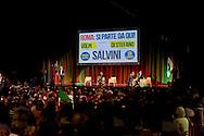 Roma, 11 Maggio 2015<br /> Comizio di Matteo Salvini, Lega Nord  al Teatro Brancaccio<br /> Rome, May 11, 2015<br /> Rally Matteo Salvini, Northern League  at the Teatro Brancaccio