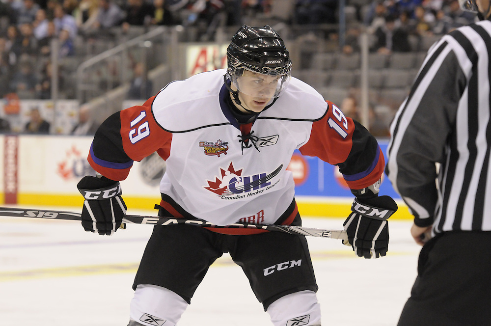 Colin Jacobs of the Seattle Thunderbirds in the Home Hardware CHL Top Prospects Game at Air Canada Centre in Toronto on Wednesday January 19, 2011. Photo by Aaron Bell/CHL Images