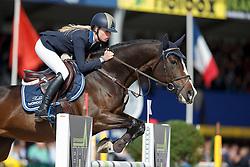Hoogenraat Kim, (BEL), Rubio Monocoat Electric<br /> Final 6 years old horses<br /> FEI World Breeding Jumping Championship <br /> Lanaken - Zangersheide 2015<br /> © Hippo Foto - Dirk Caremans<br /> 20/09/15