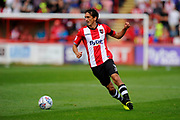 Craig Woodman (3) of Exeter City during the EFL Sky Bet League 2 match between Exeter City and Lincoln City at St James' Park, Exeter, England on 19 August 2017. Photo by Graham Hunt.