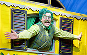 The Wind in the Willows<br /> by Kenneth Grahame adapted by Julian Fellowes with George Stiles and Anthony Drewe <br /> at London Palladium <br /> London, Great Britain <br /> Press photocall <br /> 22nd June 2017 <br /> <br /> Rufus Hound as Mr Toad <br /> <br /> <br /> <br /> Photograph by Elliott Franks <br /> Image licensed to Elliott Franks Photography Services