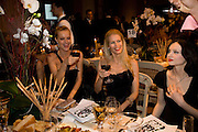 EVA HERZIGOVA; CLAUDIA SCHIFFER; SOPHIE ELLIS-BEXTOR, Chaos Point: Vivienne Westwood Gold Label Collection performance art catwalk show and auction in aid of the NSPCC. Banqueting House. London. 18 November 2008<br />  *** Local Caption *** -DO NOT ARCHIVE -Copyright Photograph by Dafydd Jones. 248 Clapham Rd. London SW9 0PZ. Tel 0207 820 0771. www.dafjones.com<br /> EVA HERZIGOVA; CLAUDIA SCHIFFER; SOPHIE ELLIS-BEXTOR, Chaos Point: Vivienne Westwood Gold Label Collection performance art catwalk show and auction in aid of the NSPCC. Banqueting House. London. 18 November 2008