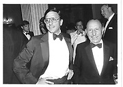 Rocco Forte and Charles Forte. Grosvenor Hse. 1983 approx. © Copyright Photograph by Dafydd Jones 66 Stockwell Park Rd. London SW9 0DA Tel 020 7733 0108 www.dafjones.com