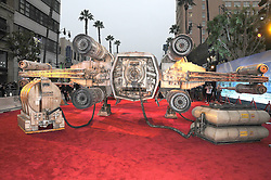 December 10, 2016 - Los Angeles, California, United States - December 10th 2016 - Los Angeles California USA - ATMOSPHERE RED CARPET   at the World Premiere for ''Rogue One Star Wars'' held at the Pantages Theater, Hollywood, Los Angeles  CA (Credit Image: © Paul Fenton via ZUMA Wire)