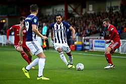 West Brom's Nacer Chadli attacks - Mandatory by-line: Matt McNulty/JMP - 22/08/2017 - FOOTBALL - Wham Stadium - Accrington, England - Accrington Stanley v West Bromwich Albion - Carabao Cup - Second Round