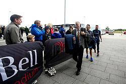 Worcester Warriors Director of Rugby Alan Solomons arrives at The AJ Bell Stadium for his side's Gallagher Premiership fixture against Sale Sharks - Mandatory by-line: Robbie Stephenson/JMP - 09/09/2018 - RUGBY - AJ Bell Stadium - Manchester, England - Sale Sharks v Worcester Warriors - Gallagher Premiership