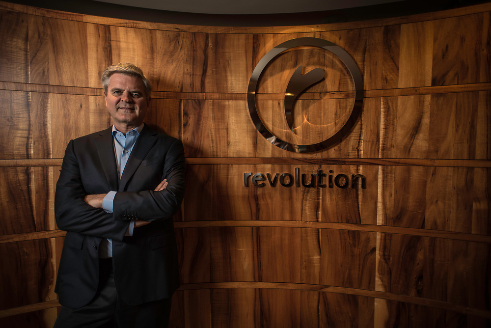 WASHINGTON, DC -- 5/30/17 -- Steve Case, is the Chair and CEO of Revolution LLC, which funds companies and entrepreneurs in communities outside of Silicon Valley. He is also the co-founder of America Online and is a billionaire.…by André Chung #_AC17861