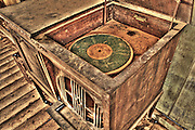 Old record player at Vulture Mine, Wickenburg, AZ
