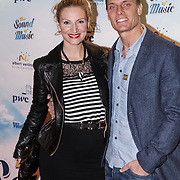 NLD/Den Bosch/20141123- Premiere Musical The Sound of Music, Winston Post en partner Denise van Rijswijk