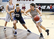 January 21, 2016: The University of Arkansas Fort Smith Lions play against the Oklahoma Christian University Lady Eagles in the Eagles Nest on the campus of Oklahoma Christian University.