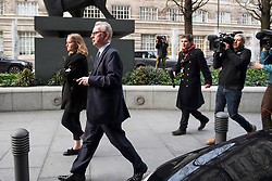 © Licensed to London News Pictures. 10/12/2018. London, UK. Environment secretary MICHAEL GOVE leaves a Conservative Friends of Israel event in central London. Mrs May is expected to call off tomorrows withdrawal agreement vote when she speaks in the House of Commons later. Photo credit: Ben Cawthra/LNP