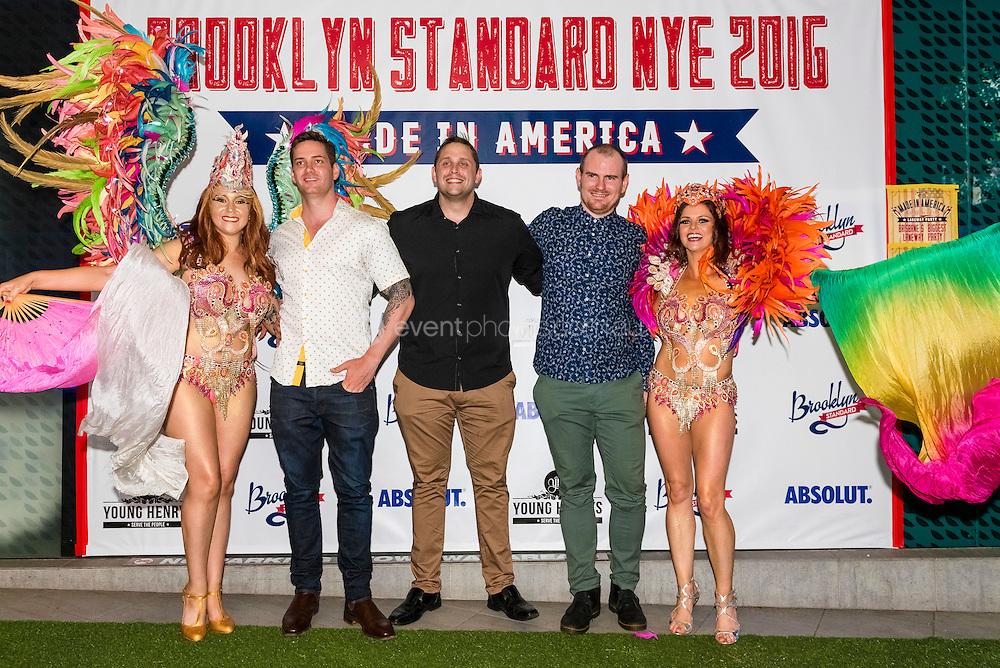 New Years Eve 2016 at Brooklyn Standard, Brisbane.