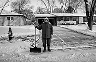 Cold temperatures moved back Tuesday, Jan. 16, 2018 in Madison, Wisconsin.
