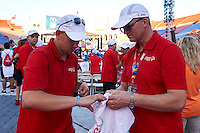 SO Polish Team while Closing Ceremony of the Special Olympics World Games Los Angeles 2015 at the Los Angeles Coliseum Stadium on ninth day, August 2, 2015 in Los Angeles, USA.<br /> <br /> USA, Los Angeles, August 2, 2015<br /> <br /> Picture also available in RAW (NEF) or TIFF format on special request.<br /> <br /> For editorial use only. Any commercial or promotional use requires permission.<br /> <br /> Adam Nurkiewicz declares that he has no rights to the image of people at the photographs of his authorship.<br /> <br /> Mandatory credit:<br /> Photo by &copy; Adam Nurkiewicz / Mediasport