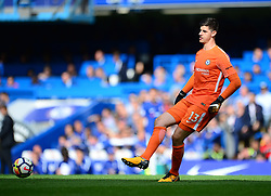 Thibaut Courtois of Chelsea - Mandatory by-line: Alex James/JMP - 17/09/2017 - FOOTBALL - Stamford Bridge - London, England - Chelsea v Arsenal - Premier League