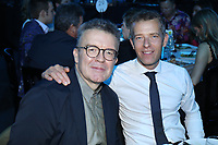Tom Watson, Deputy Leader of the Labour Party with Geoff Taylor of BPI