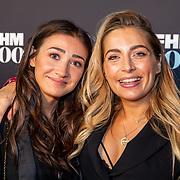 NLD/Amsterdam/20190522 - Uitreiking FHM500 2019, zwangere Shelley Sterk en vriendin
