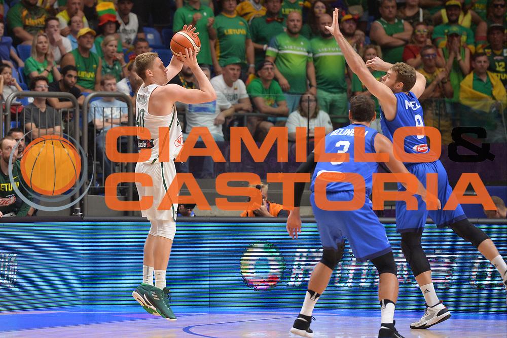 \<br /> Nazionale Italiana Maschile Senior<br /> Eurobasket 2017 - Group Phase<br /> Lituania - Italia<br /> FIP 2017<br /> Tel Aviv, 03/09/2017<br /> Foto Ciamillo - Castoria/ M.Longo
