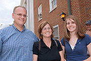 17756Pre-College Campus Lunch: Students....Dave, Debbie & Emily Garverick