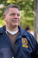 Merrick, New York, USA. October 29, 2016. Legislator STEVEN D. RHOADS (Rep - Dist. 19) is one of several Long Island politicians attending the 2016 annual Merrick Spooktacular hosted in part by the North and Central Merrick Civic Association (NCMCA). The holiday party was at Fraser Park.