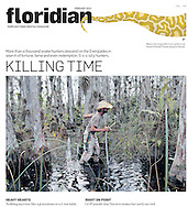 The Great Python Hunt, FLORIDIAN MAGAZINE