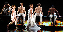 Rambert Dance Company, Featuring Labyrinth of Love at Sadler's Wells Theatre, London, Great Britain, October 16, 2012. Photo by Elliott Franks / i-Images. ..