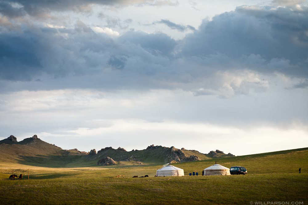 Övörkhangai Province, Mongolia.