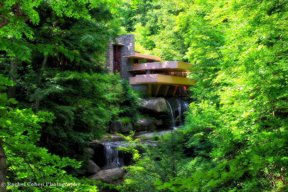&quot;Day Dreaming&quot;<br /> Magical and dreamy version of  historical and iconic Fallingwater during summertime!