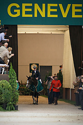 Ehning Marcus (GER) - Plot Blue<br /> Winner of the Rolex FEI World Cup Final - Geneve 2010<br /> © Dirk Caremans