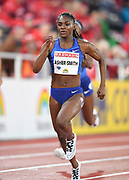 Dina Asher-Smith (GBR) wins the women's 200m in 22.18 during the Bauhaus-Galan in a IAAF Diamond League meet at Stockholm Stadium in Stockholm, Sweden on Thursday, May 30, 2019. (Jiro Mochizuki/Image of Sport)