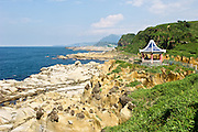 The rocky east coast of Taiwan has everything: beaches, clifs, ports, and amazing rock formations.  This is He-Ping National Park near Keelung.