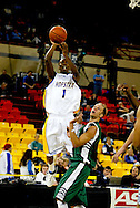 11/23/2006 - Anchorage, Alaska: Senior guard Loren Stokes (1) of the Hofstra Pride as Hawaii defeats Hofstra 80-79 at the 2006 Great Alaska Shootout on Thanksgiving night<br />
