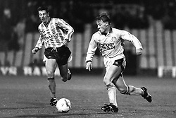 David Batty Leeds United, Coventry v Leeds United, First Division, Highfield Road,  1991
