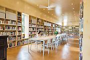 Library Interior. Newbern, Alabama | Architects: Rural Studio Team -  Morgan Acino, Ashley Clark, Stephen Durham, Will Gregory
